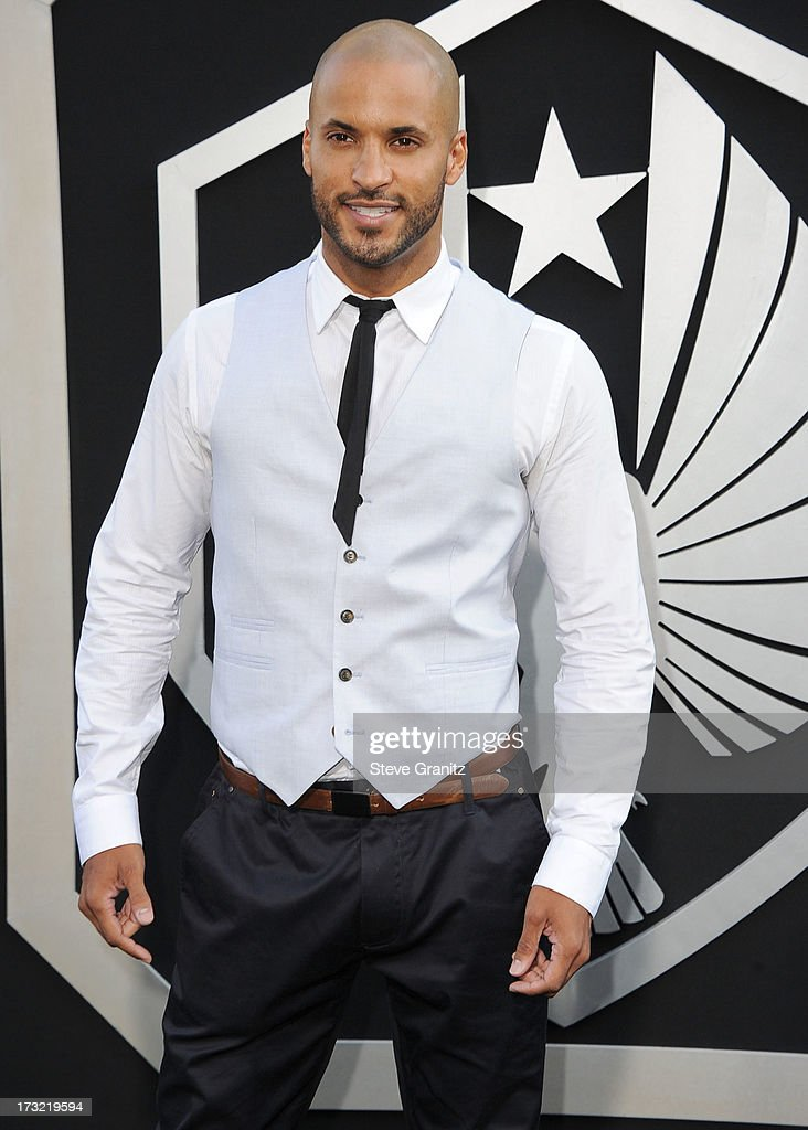 Ricky Whittle arrives at the 'Pacific Rim' - Los Angeles Premiere at Dolby Theatre on July 9, 2013 in Hollywood, California.