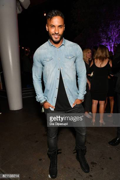 Ricky Whittle at Entertainment Weekly's annual ComicCon party in celebration of ComicCon 2017 at Float at Hard Rock Hotel San Diego on July 22 2017...