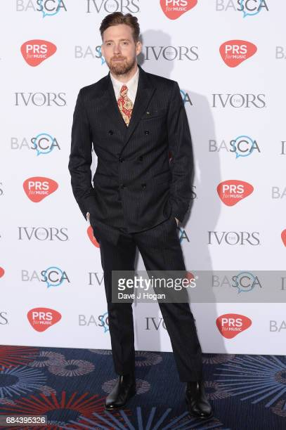 Ricky Wilson attends the Ivor Novello Awards at Grosvenor House on May 18 2017 in London England