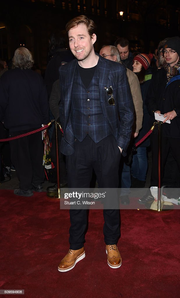 <a gi-track='captionPersonalityLinkClicked' href=/galleries/search?phrase=Ricky+Wilson&family=editorial&specificpeople=206907 ng-click='$event.stopPropagation()'>Ricky Wilson</a> attends the World Premiere of 'End Of Longing', written by and starring Matthew Perry at Playhouse Theatre on February 11, 2016 in London, England.