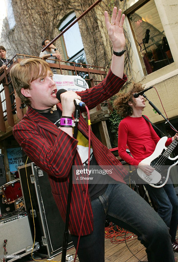 Ricky Wilson of Kaiser Chiefs during SXSW Music Festival 2005 Kaiser Chiefs Perform at the KCRW/Filter Magazine Party at Cedar Street Courtyard in...
