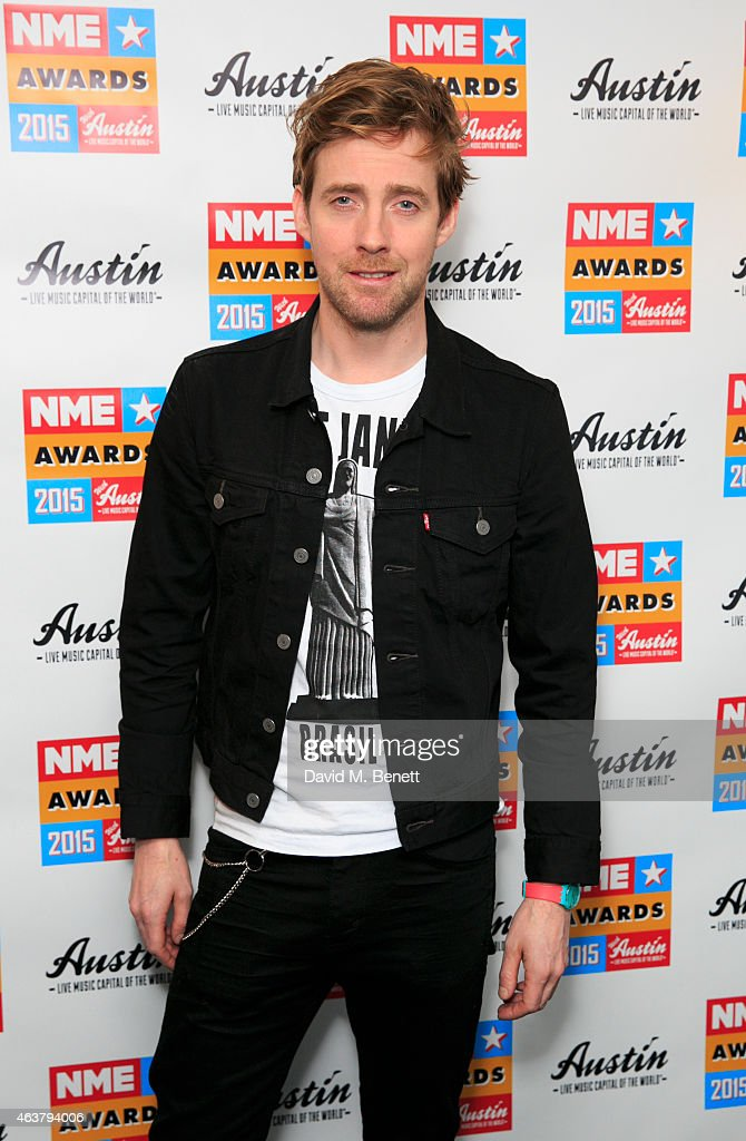 NME Awards - Winners Room