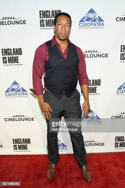Rico E Anderson attends the screening of 'England Is Mine' at The Montalban on August 22 2017 in Hollywood California