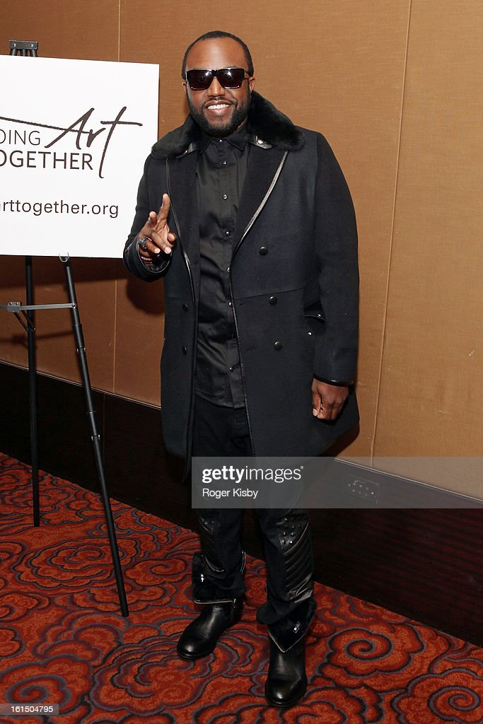 Rico Love attends Doing Art Together honors Swizz Beats and Dr. George Williams at Mandarin Oriental Hotel on February 11, 2013 in New York City.