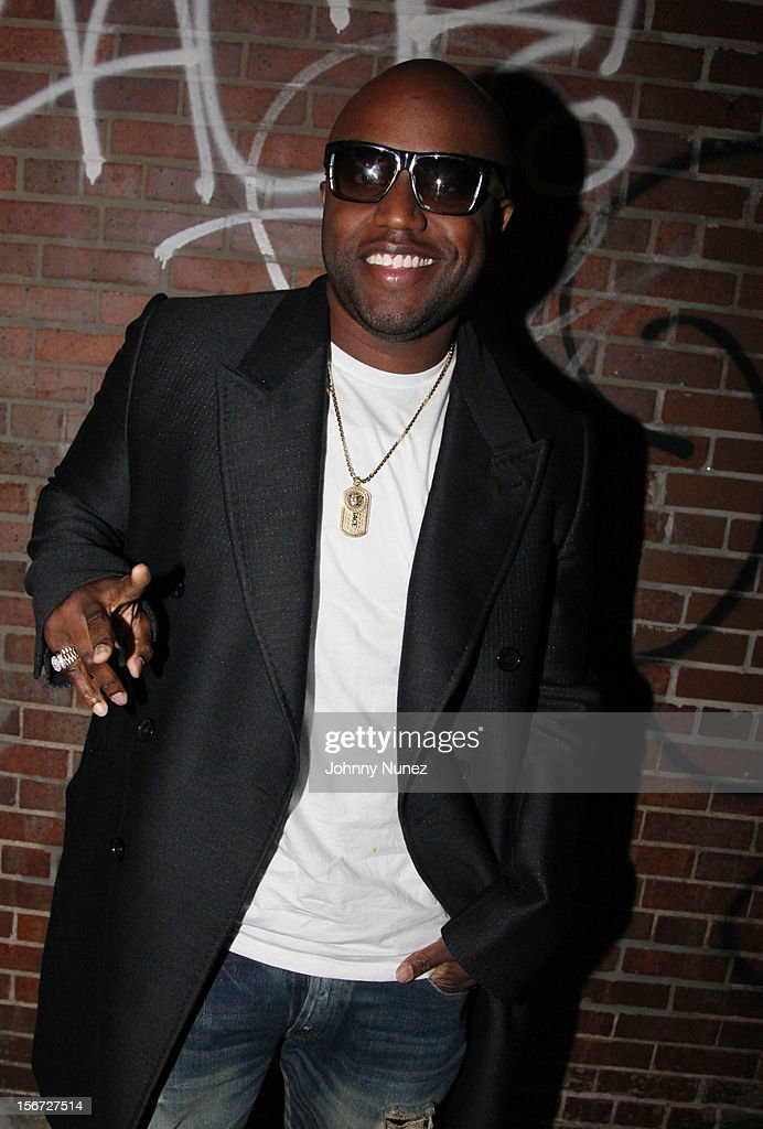 Rico Love attends Ne-Yo's 'Let Me Love You' Remix Video Shoot at Prime on November 19, 2012 in New York City.