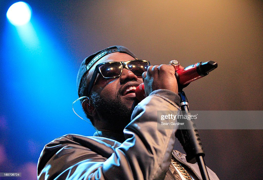 Rico Love performs during the Music Choice Heads Back To School In New Orleans at the House of Blues on October 23, 2013 in New Orleans, Louisiana.