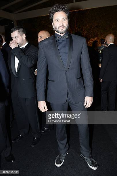 Rico Mansour attends the 5th Annual amfAR Inspiration Gala at the home of Dinho Diniz on April 10 2015 in Sao Paulo Brazil