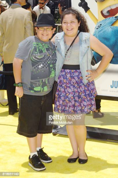 Rico Rodriguez and Raini Rodriguez attend 'Despicable Me' World Premiere at the Los Angeles Film Festival at Nokia TheaterLA Live on June 27 2010 in...