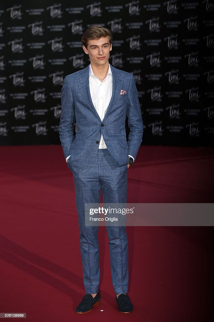 Ridder van Kooten attends 'Tini - The New Life Of Violetta' Premiere In Rome on April 29, 2016 in Rome, Italy.