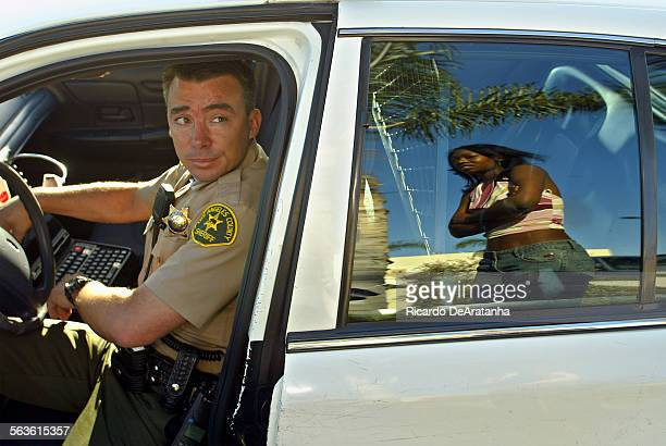 Ride along with Compton Sheriff's Department Deputy AJ Rotella questioning a unidentified Rancho Cucamonga woman She was detained for investigation...