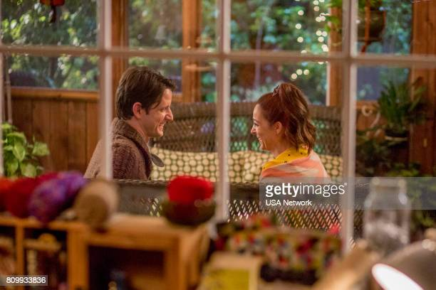 HOUSE 'Ride the Dragon' Episode 306 Pictured Zach Woods as Zach Harper Lindsay Sloane as Tina Rodriguez