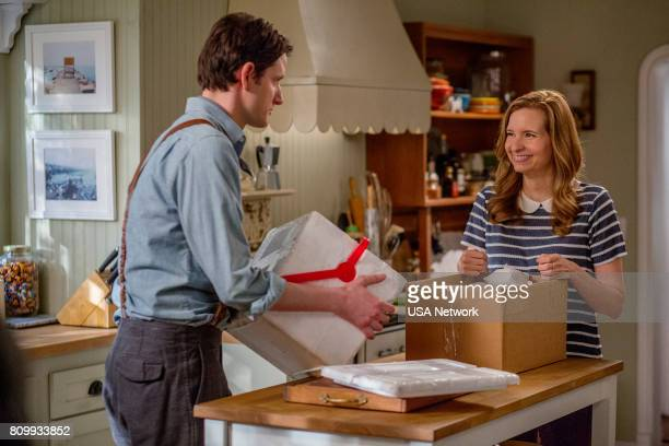 HOUSE 'Ride the Dragon' Episode 306 Pictured Zach Woods as Zach Harper Lennon Parham as Maggie Caruso