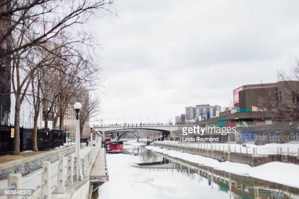 Rideau Canal at winter