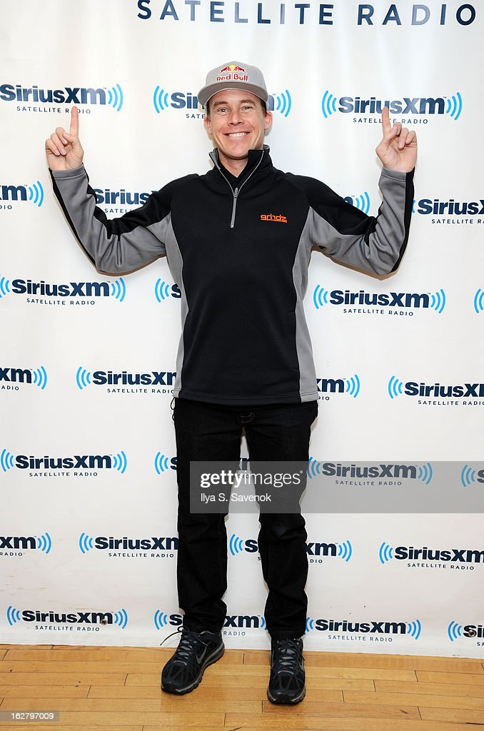 BMX rider Kevin Robinson visits the SiriusXM Studios on February 27, 2013 in New York City.