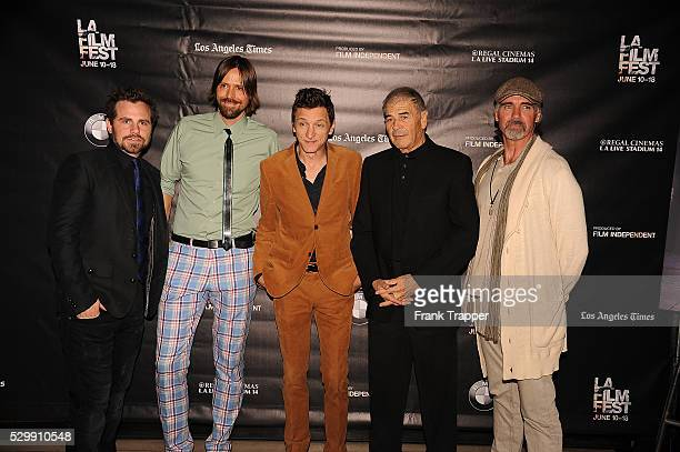 Rider Strong Brett Jacobsen John Hawkes Robert Forester and Jeff Fahey arrive premiere of 'Too Late' held at the Bing Theater at LACMA