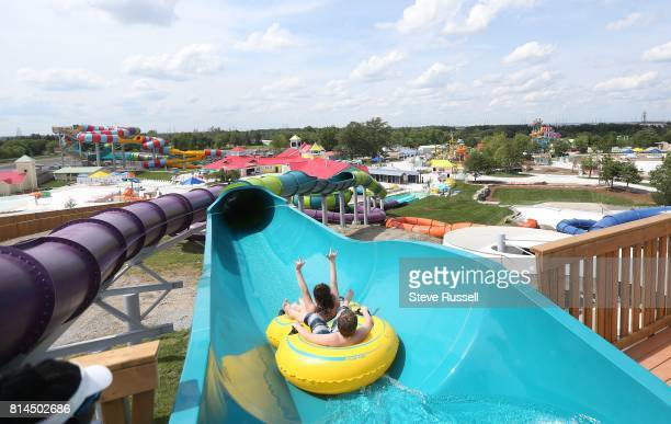 BRAMPTON ON JUNE 28 Riders start the Typhoon Wet 'n' Wild Toronto reopens a revamped waterpark on the site that used to be known as Wild Water Kingdom