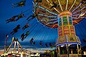 Rides at State Fair