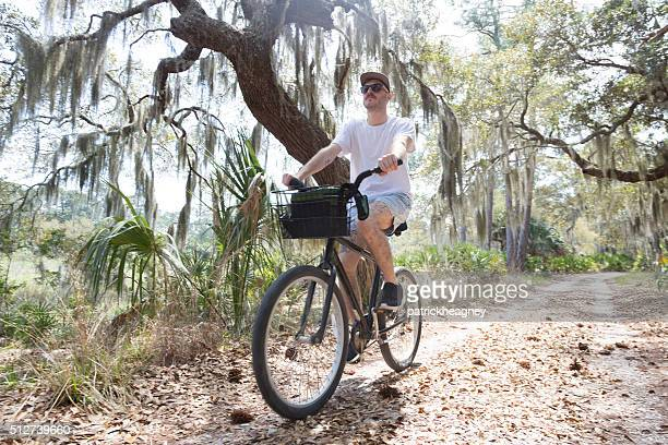 Riding a Bike in Coastal Georgia