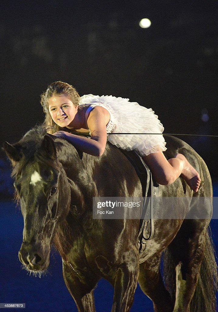 A riding artist performs during the Horse Music Show as part of Gucci Paris Masters 2013 - Day 1 at Paris Nord Villepinte on December 5, 2013 in Paris, France.