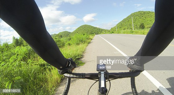 riding bicycle : Stock Photo