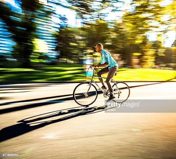 Reiten Fahrräder im Central Park, New York