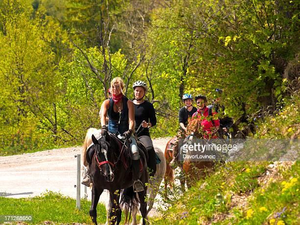 Équitation de route