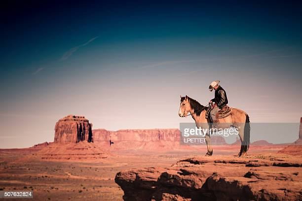Riding Horse in Monument Valley, Arizona