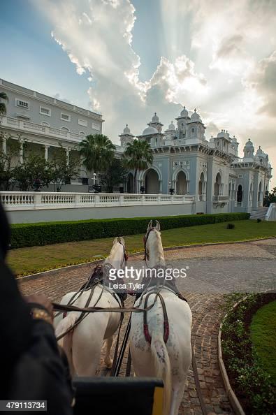 PALACE HYDERABAD TELANGANA INDIA Riding into Falaknuma Palace in ...