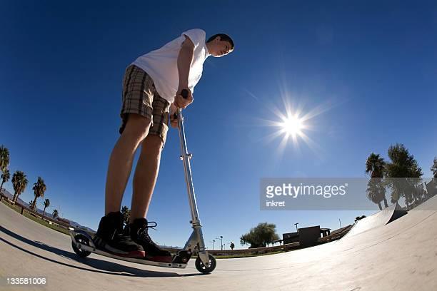 Équitation de scooter