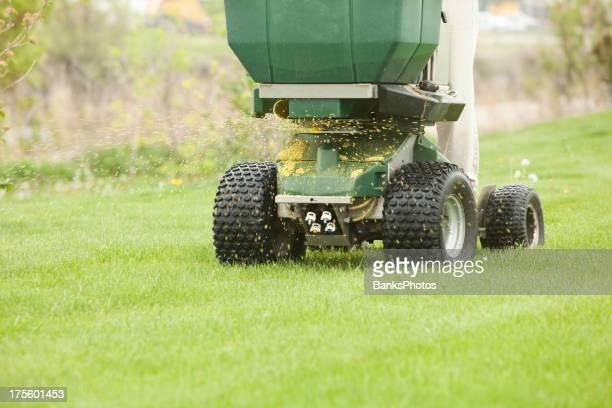 Equitazione diffusore applicazione di Fertilizzante e piante infestanti controllo
