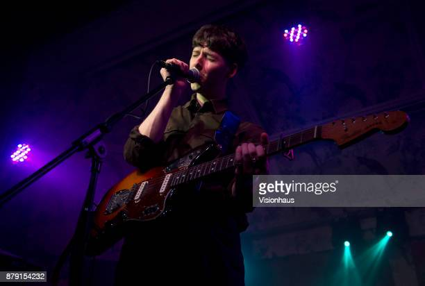 Ridley performs as support to Childhood at the Deaf Institute Manchester on November 22 2017 in Manchester England