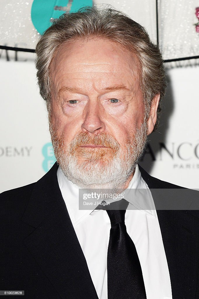 <a gi-track='captionPersonalityLinkClicked' href=/galleries/search?phrase=Ridley+Scott&family=editorial&specificpeople=215470 ng-click='$event.stopPropagation()'>Ridley Scott</a> attends the Lancome BAFTA nominees party at Kensington Palace on February 13, 2016 in London, England.