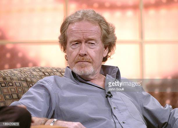 Ridley Scott during CBS Presentation at 2005 TCA Winter Press Tour at Sheraton Universal in Universal City California United States