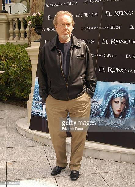 Ridley Scott during 'Kingdom of Heaven' Madrid Photocall at Ritz Hotel in Madrid Spain