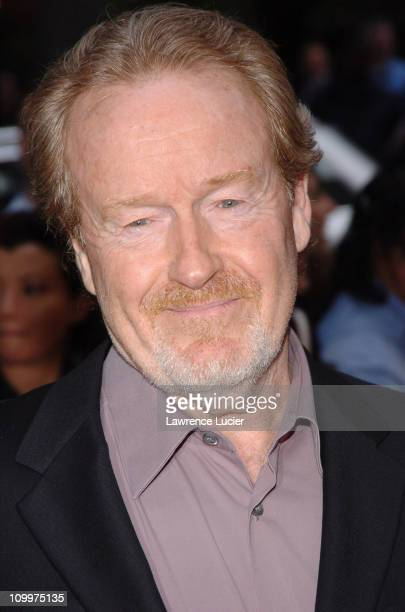 Ridley Scott during Kingdom of Heaven New York City Premiere Outside Arrivals at Clearview's Ziegfield Theater in New York City New York United States