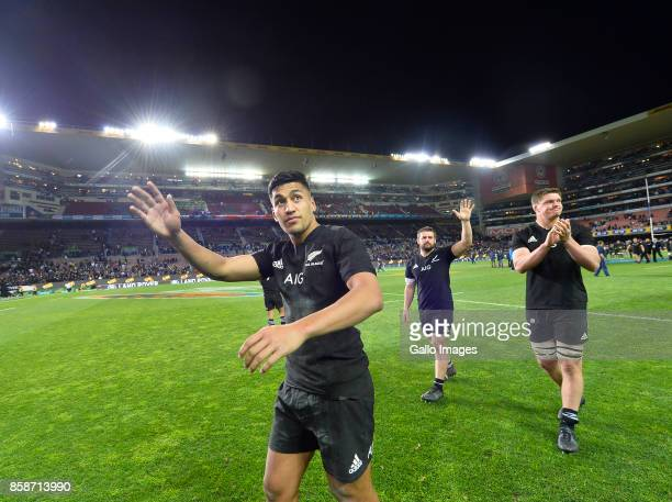 Rieko Ioane of New Zealand after the Rugby Championship 2017 match between South Africa and New Zealand at DHL Newlands on October 07 2017 in Cape...