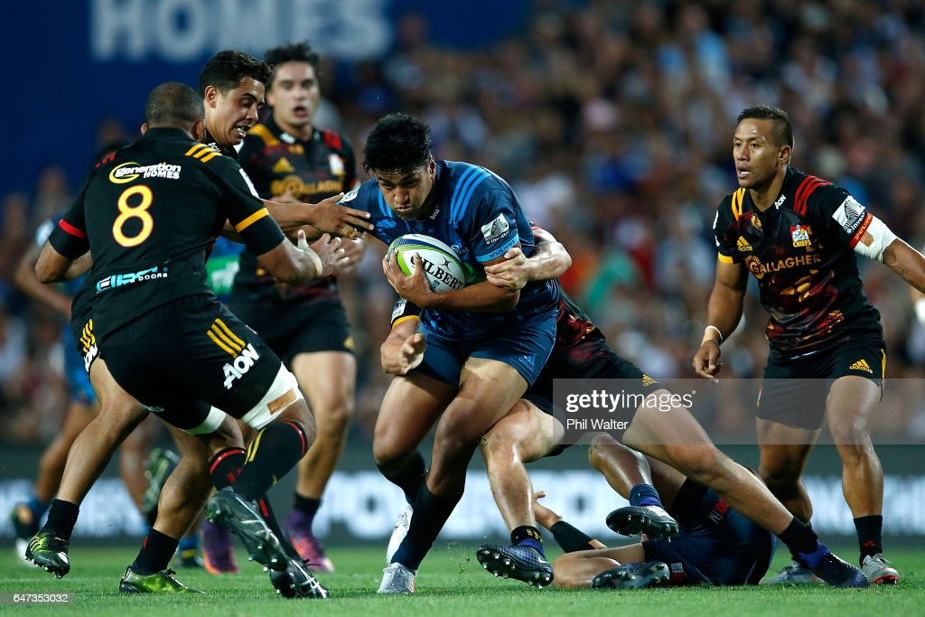 Super Rugby Rd 2 - Chiefs v Blues