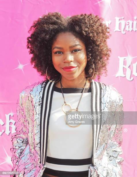 Riele Downs attends Rock Your Hair Presents 'Rock Your Summer' Party and Concert on June 3 2017 in Los Angeles California