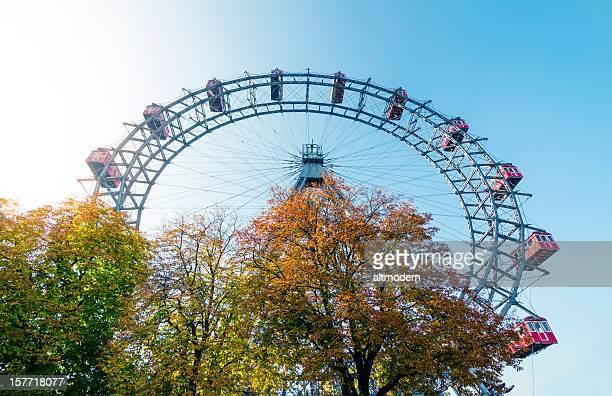 Ferris wheel point of view Wien