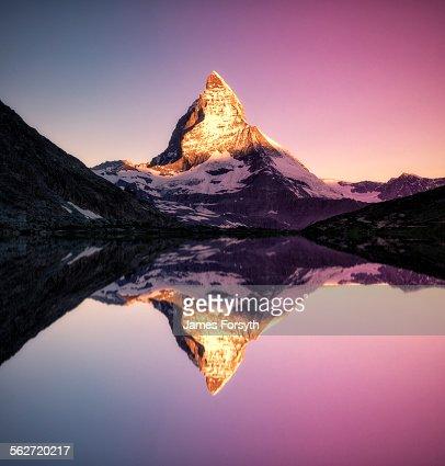 Riffelsee sunrise