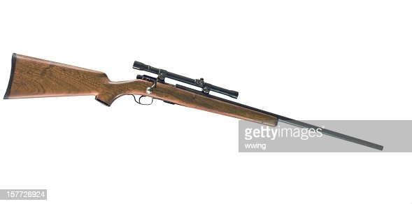Rifle with Clipping Path