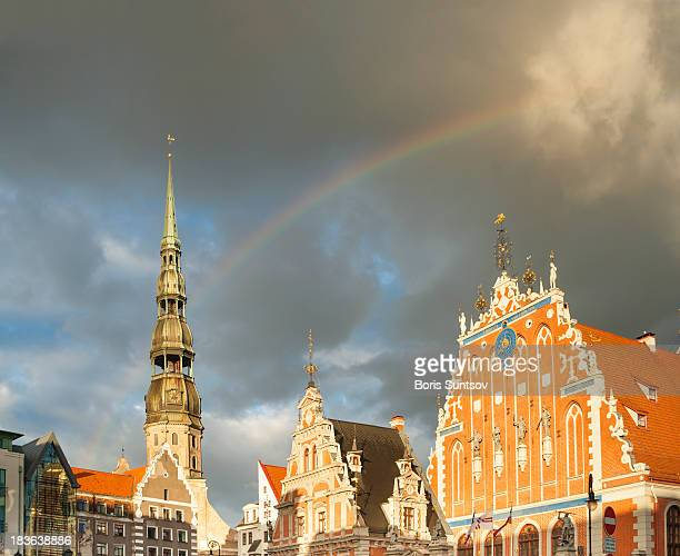 Riga after rain