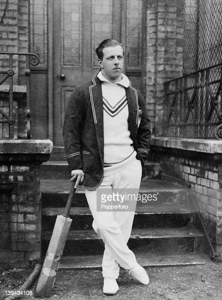 Right Honorable Lord Lionel Hallam Tennyson Hampshire and England cricket team circa 1921