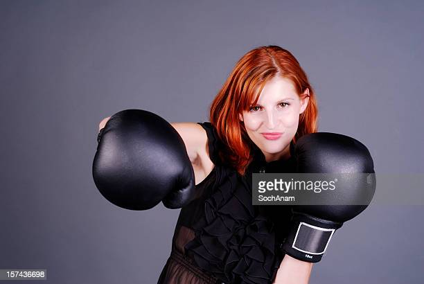 Right Punch - Powerful Woman