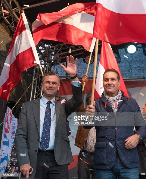 Right-wing Austrian Freedom Party (FPOe) presidential ...