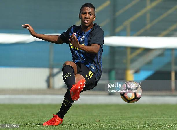 Rigo Berto Rivas of FC Internazionale Milano in action during the Primavera Tim juvenile match between FC Internazionale and Virtus Entella at Stadio...