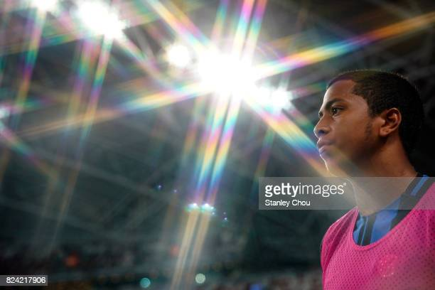 Rigoberto Rivas of FC Internazionale looks on after his team defeated chelsea FC 21 during the International Champions Cup match between FC...