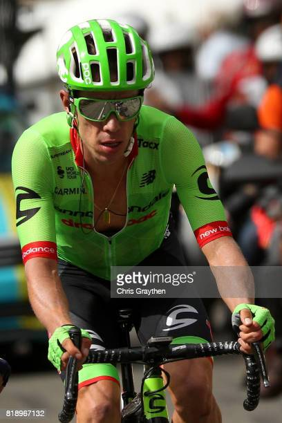 Rigoberto Uran of Colombia riding for Cannondale Drapac rides in the peloton during stage 17 of the 2017 Le Tour de France a 183km stage from La Mure...