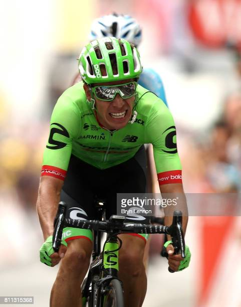 Rigoberto Uran of Columbia and Cannondale Drapac Professional Cycling Team wins stage nine of Le Tour de France 2017 a 182km stage between Nantua and...