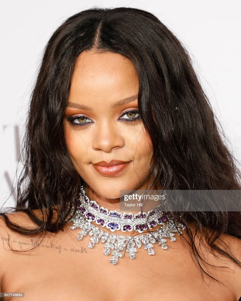 Rihanna attends her third annual Diamond Ball at Cipriani Wall Street on September 14, 2017 in New York City.